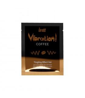 Жидкий вибратор для двоих Intt со вкусом кофе, 5 мл (сашет) - No Taboo
