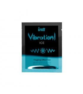 Жидкий вибратор с охлаждающим эффектом Intt Ice, 5 мл (сашет) - No Taboo