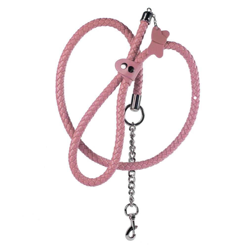 Стильный бондажный набор в сумочке, розовый, замкожа (38233), фото 11 — секс шоп Украина, NO TABOO