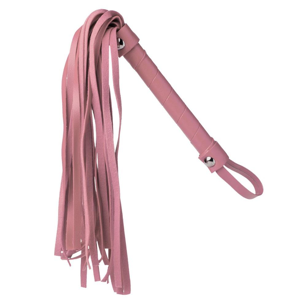 Стильный бондажный набор в сумочке, розовый, замкожа (38233), фото 10 — секс шоп Украина, NO TABOO