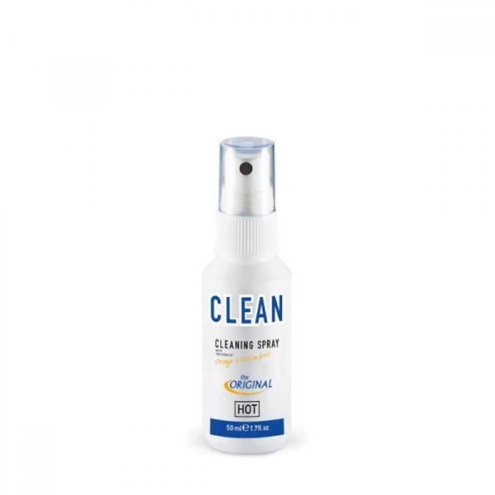 Очиститель для игрушек с ароматом фруктов, Clean 50 ml (38181), фото 1 — секс шоп Украина, NO TABOO