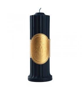 Свеча низкотемпературная, темно-синяя, UPKO, 150 гр - No Taboo