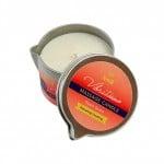 Массажная свеча с ароматом персика - Vibratissimo Peach Grace, 50 мл