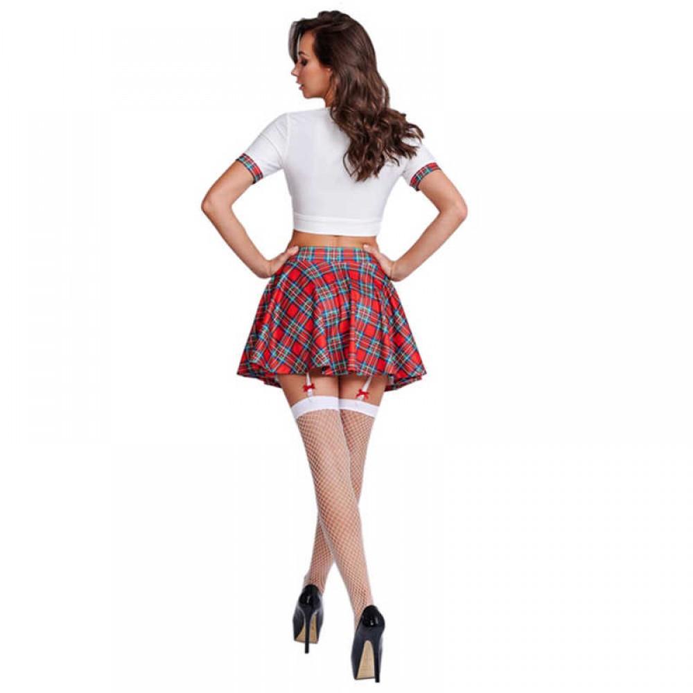 Ролевой костюм школьницы старшеклассницы LeFrivole, 3 предмета S/M (41957)