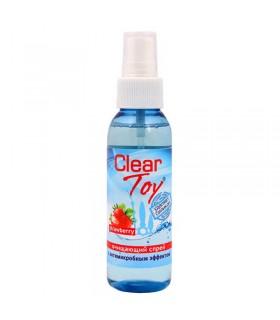 Очищающий спрей клубничка CLEAR TOY STRAWBERRY 100 мл - No Taboo