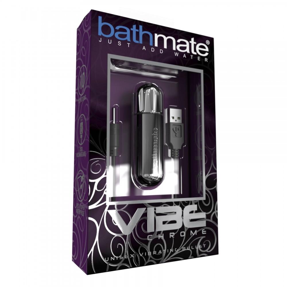 Вибропуля Bathmate Vibe Bullet Chrome, фото 3