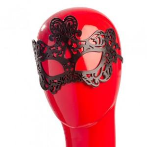 Чорна ажурна гелева маска NO TABOO (31904), zoom