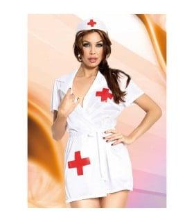 Костюм халатик медсестры, 3 предмета M/L - No Taboo