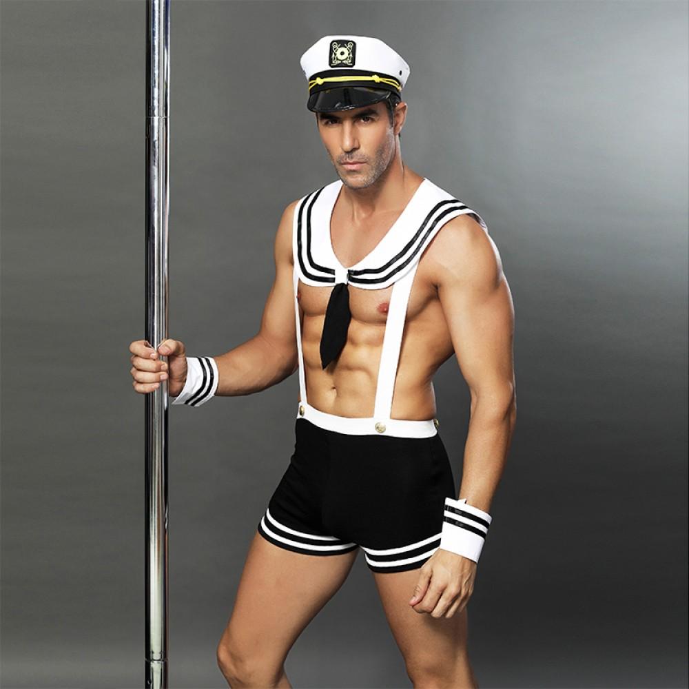 Костюм кокетливого моряка, 3 предмета (One size) (32798)