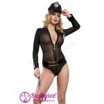 Костюм Полицейская Sexy, L/XL (маломерный, на размер M)