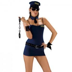 Костюм полицейской Roxana для ролевой игры (20288), zoom