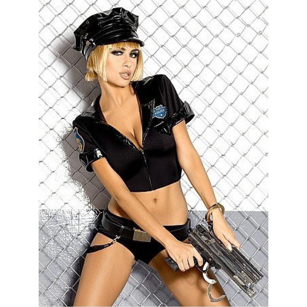 Костюм Полицейской шортиками (9518)