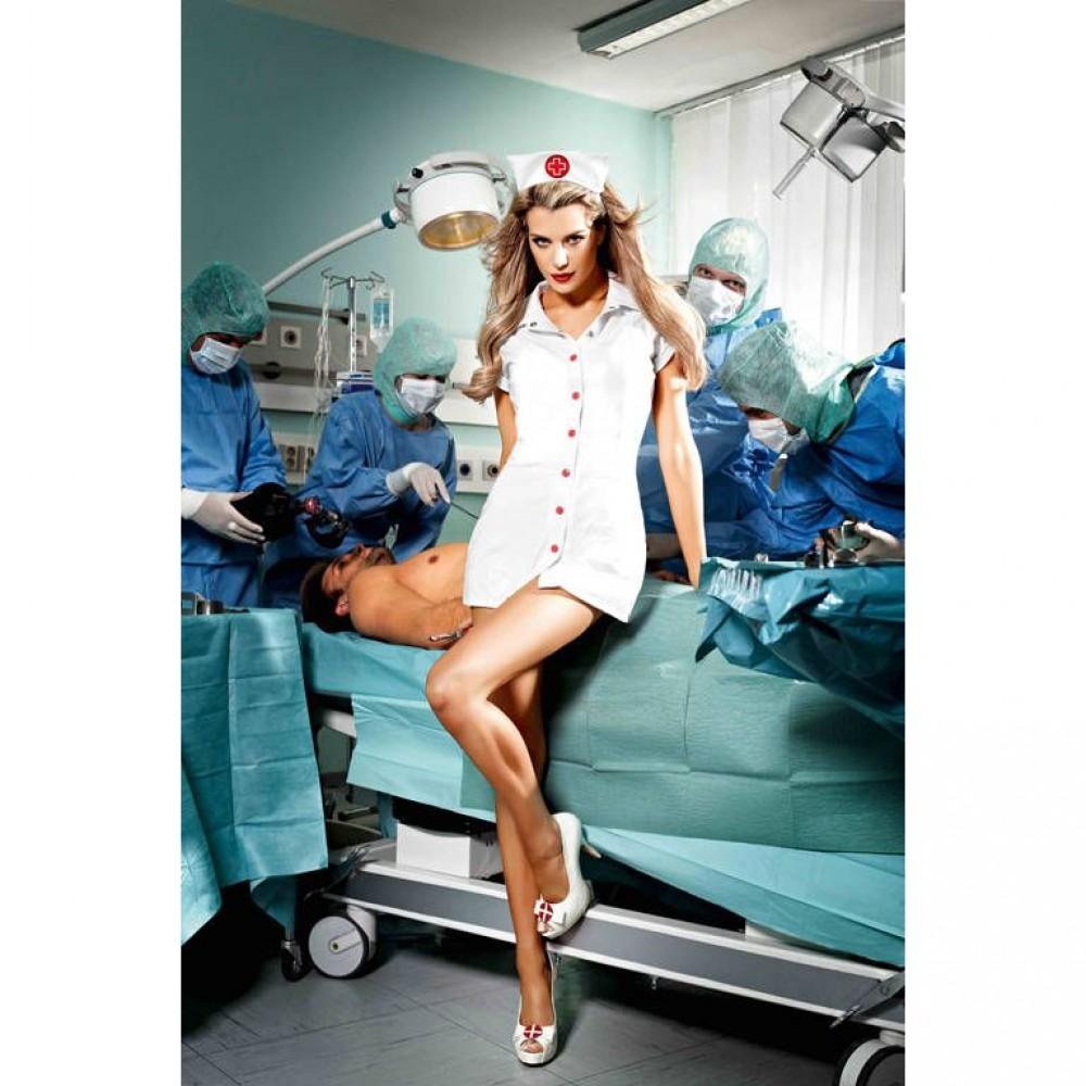 Костюм сексуальной медсестры Baci - No Taboo