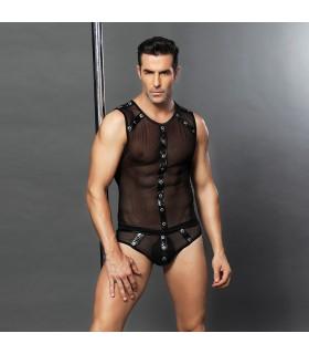 Эротический мужской секси комплект Macho man, 2 предмета S-L (One size) - No Taboo