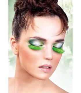 Реснички-перья светло зеленые - No Taboo