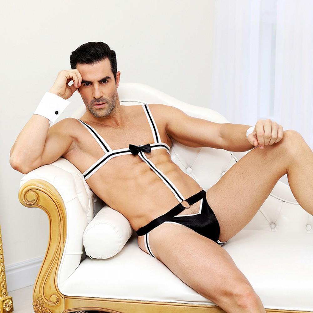 Секси костюм официанта, 2 предмета (One size) (32800), фото 2 — секс шоп Украина, NO TABOO