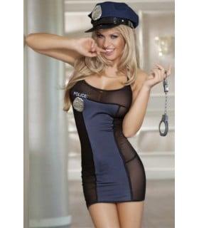 Соблазнительный костюм полицейского - No Taboo