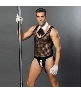 Эротический костюм Дерзкого Официанта, 4 предмета - No Taboo