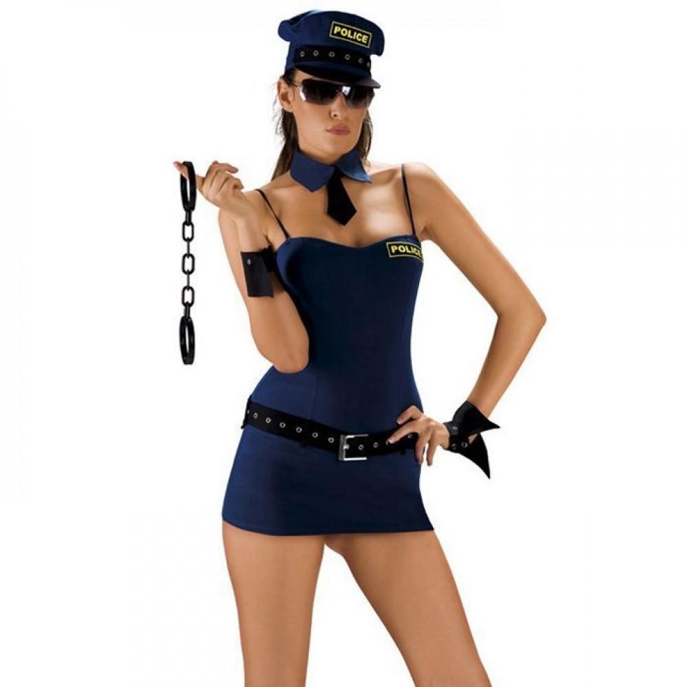 Костюм полицейской Roxana для ролевой игры (20288), фото 1