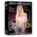 Кукла падчерицы Zero Tolerance надувная, резиновая