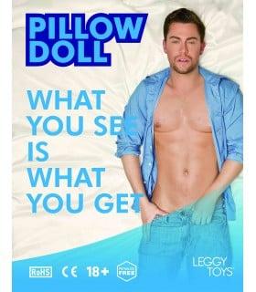 Надувная подушка в виде мужчины Leggy Toys - No Taboo