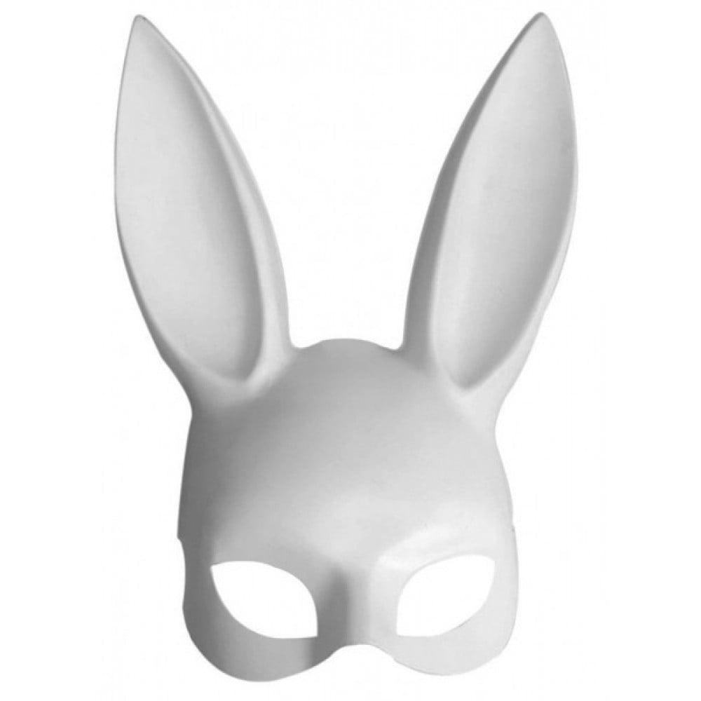 Маска кролик Плейбой Біла (30108)