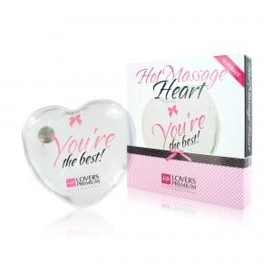 Горячее сердце для массажа Loverspremium Hot Massage Heart XL The Best (34365), zoom
