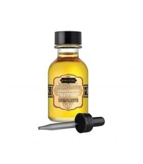 Масло для поцелуев съедобное с разогревом OIL OF LOVE Vanilla Creme 22 ML - No Taboo