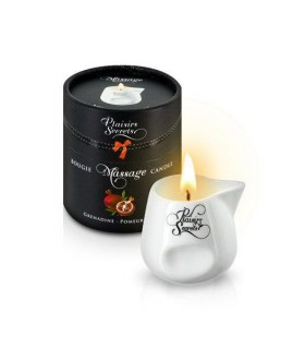 Массажная свеча Plaisirs Secrets Pomegranate 80 мл - No Taboo