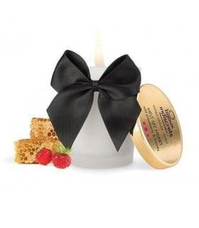 Массажная свеча с ароматом земляники и меда с афродизиаками 70 мл - No Taboo