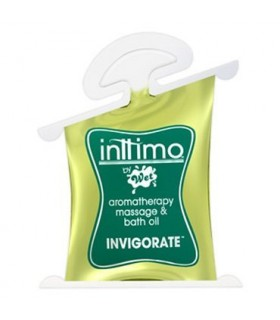 Массажное масло Inttimo Wet INVIGORATE 10 мл - No Taboo