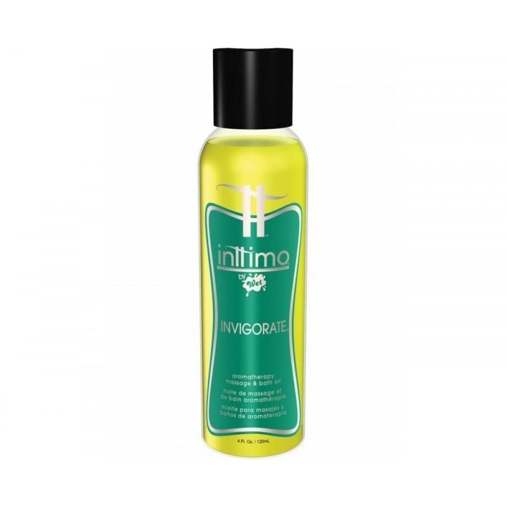 Массажные масла Inttimo с ароматом эвкалипта и лимона, 120 мл (29104), фото 1 — секс шоп Украина, NO TABOO