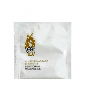 Пробник масажне масло YESforLOV чарівний аромат, 3 мл - No Taboo