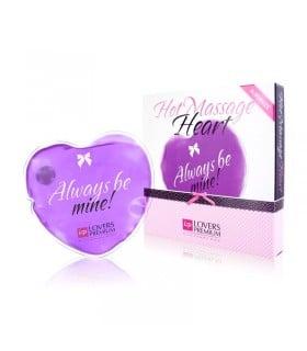 Горячее сердце для массажа Loverspremium Hot Massage Heart XL BE MINE - No Taboo