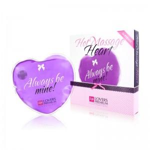 Гаряче серце для масажу Loverspremium Hot Massage Heart XL BE MINE (34366), zoom