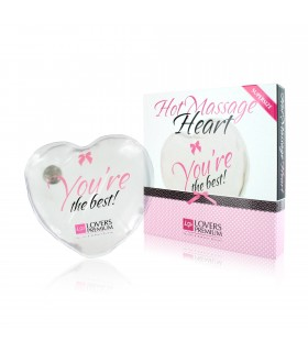 Горячее сердце для массажа Loverspremium Hot Massage Heart XL The Best - No Taboo