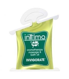 Массажное масло Inttimo Wet INVIGORATE 10 мл
