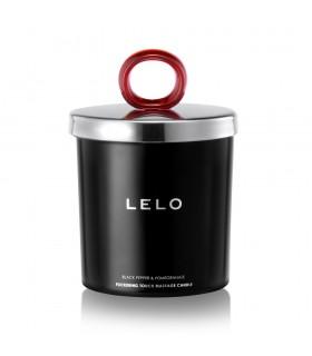 Свеча массажная на масляной основе Lelo с фруктовым ароматом - No Taboo