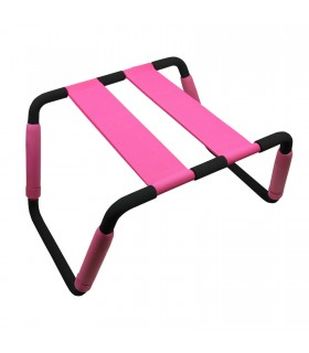 Секс стульчик Romfun, розовый - No Taboo
