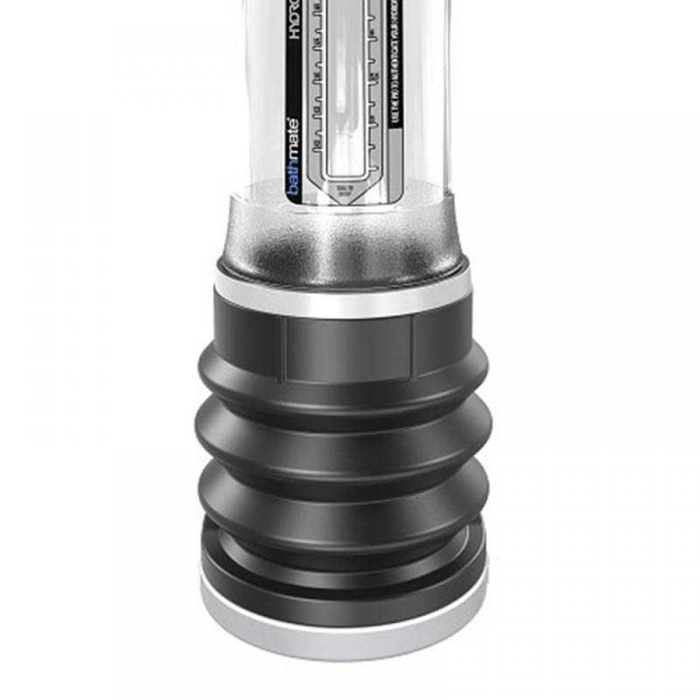 Гідропомпа BATHMATE HYDROMAX 9 для збільшення члена, прозора (32059)
