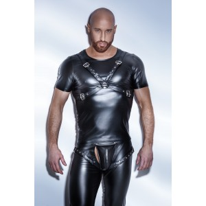 Эротическая футболка сбруя H041 от Noir Handmade L (32036), zoom
