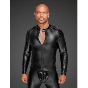 Куртка виниловая облегающая, на молнии Noir Handmade, размер S (30737), zoom