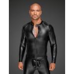 Куртка виниловая облегающая, на молнии Noir Handmade, размер XXL