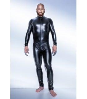 Сексуальный обтягивающий мужской комбинезон H043 Noir Handmade L - No Taboo