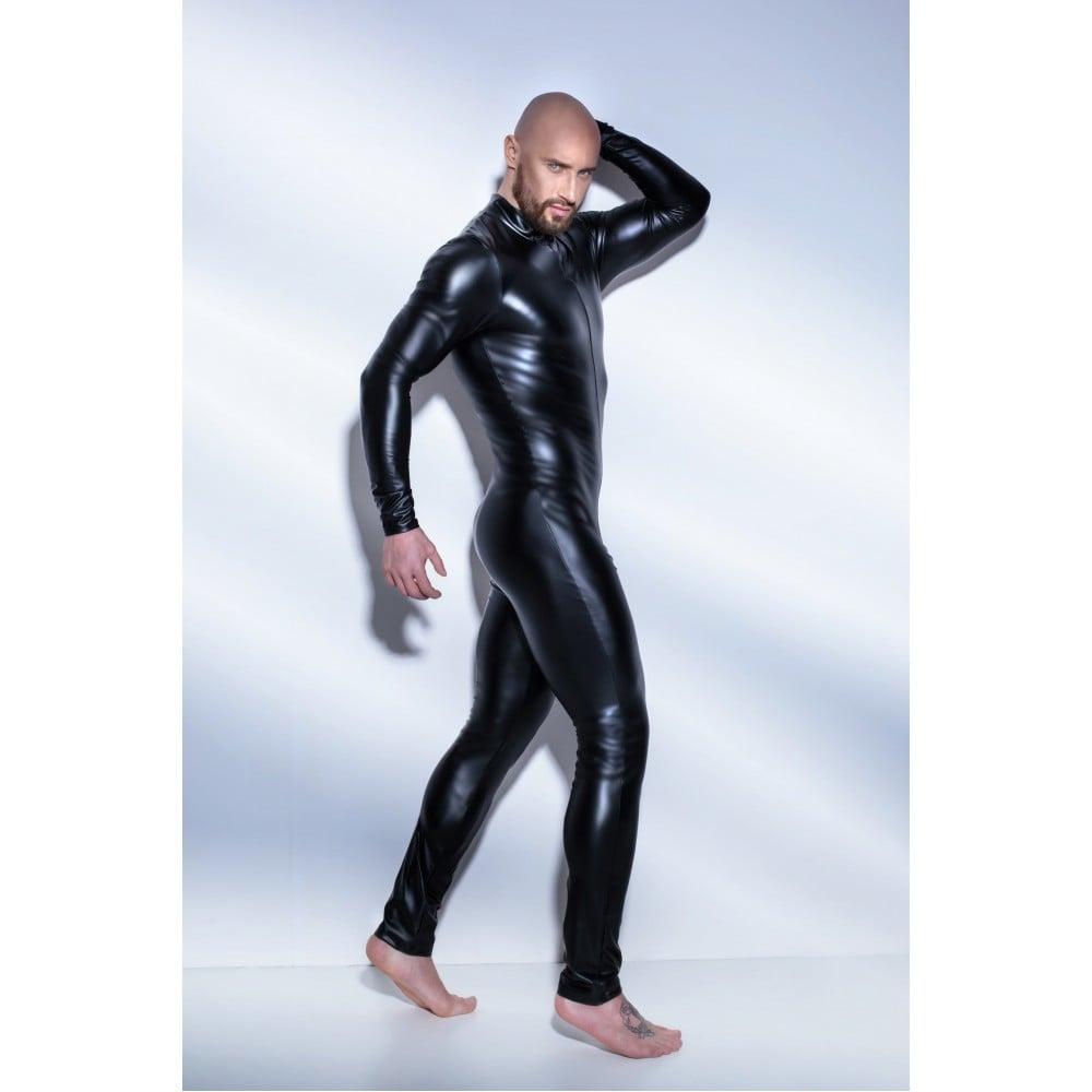 Сексуальный обтягивающий мужской комбинезон H043 Noir Handmade S (32645)