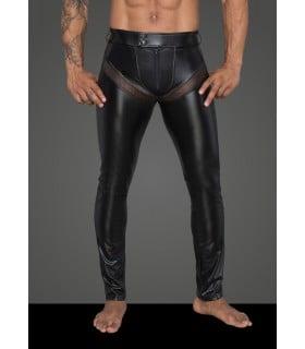 Эротические штаны виниловые, мужские H059 Noir Handmade XL - No Taboo