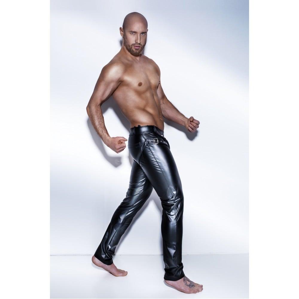 Эротические штаны Noir Handmade с ремнями мужские, размер S (32648), фото 2 — секс шоп Украина, NO TABOO
