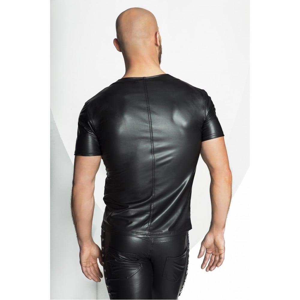 Эротическая футболка сетка посередине H029 от Noir Handmade M (30560), фото 2