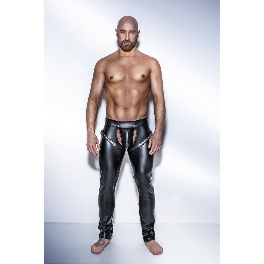 Штаны с ремнями H042 Noir Handmade XL (32650), фото 1