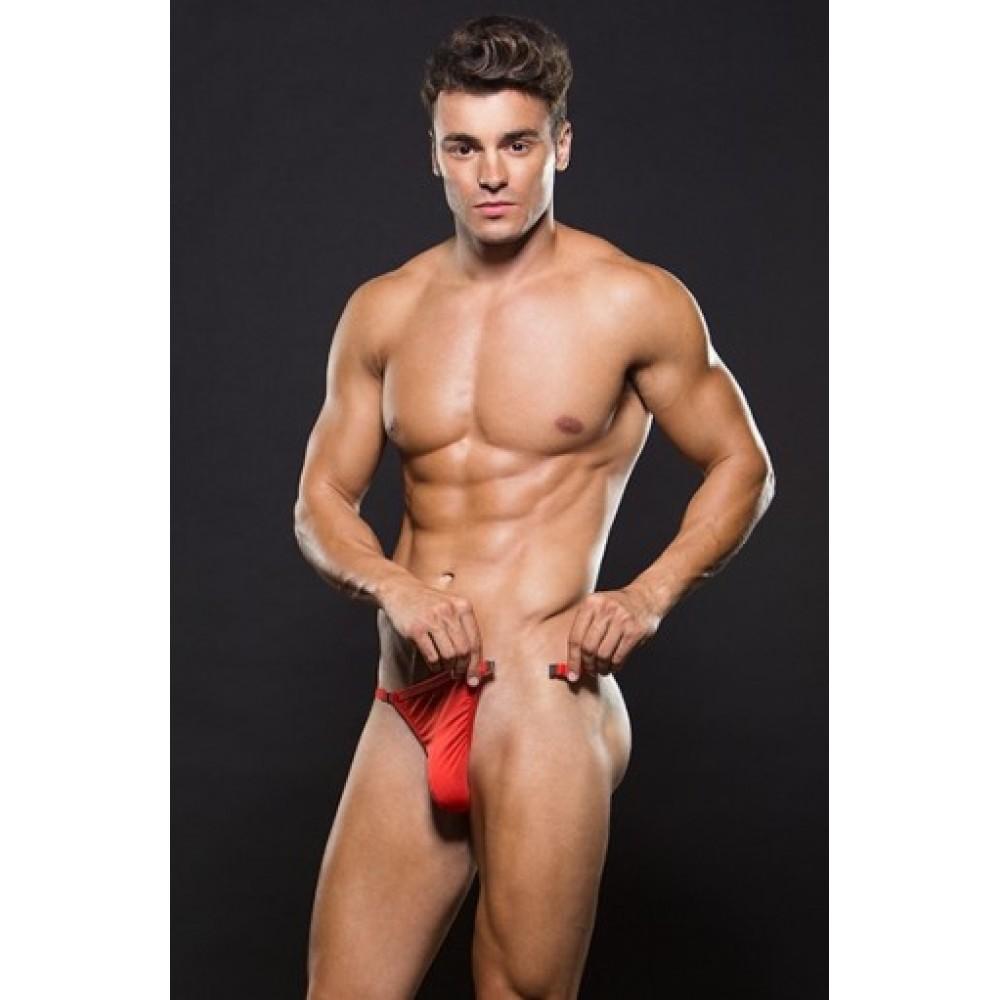 Трусы мужские MAGNETIC G-STRING RED M/L (34224), фото 1